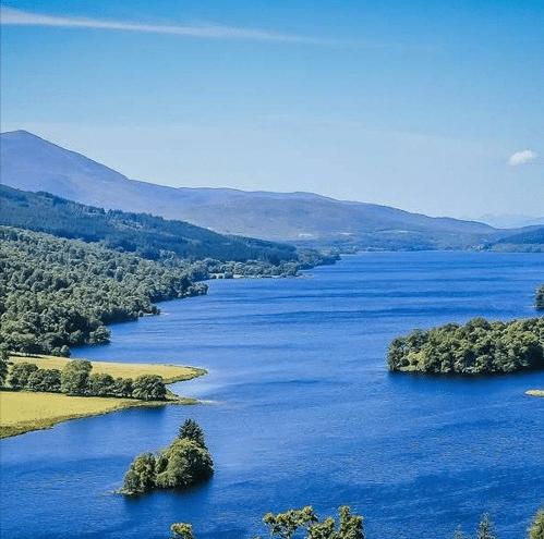 Jenny MacIntyre on Loch Tummel Camping