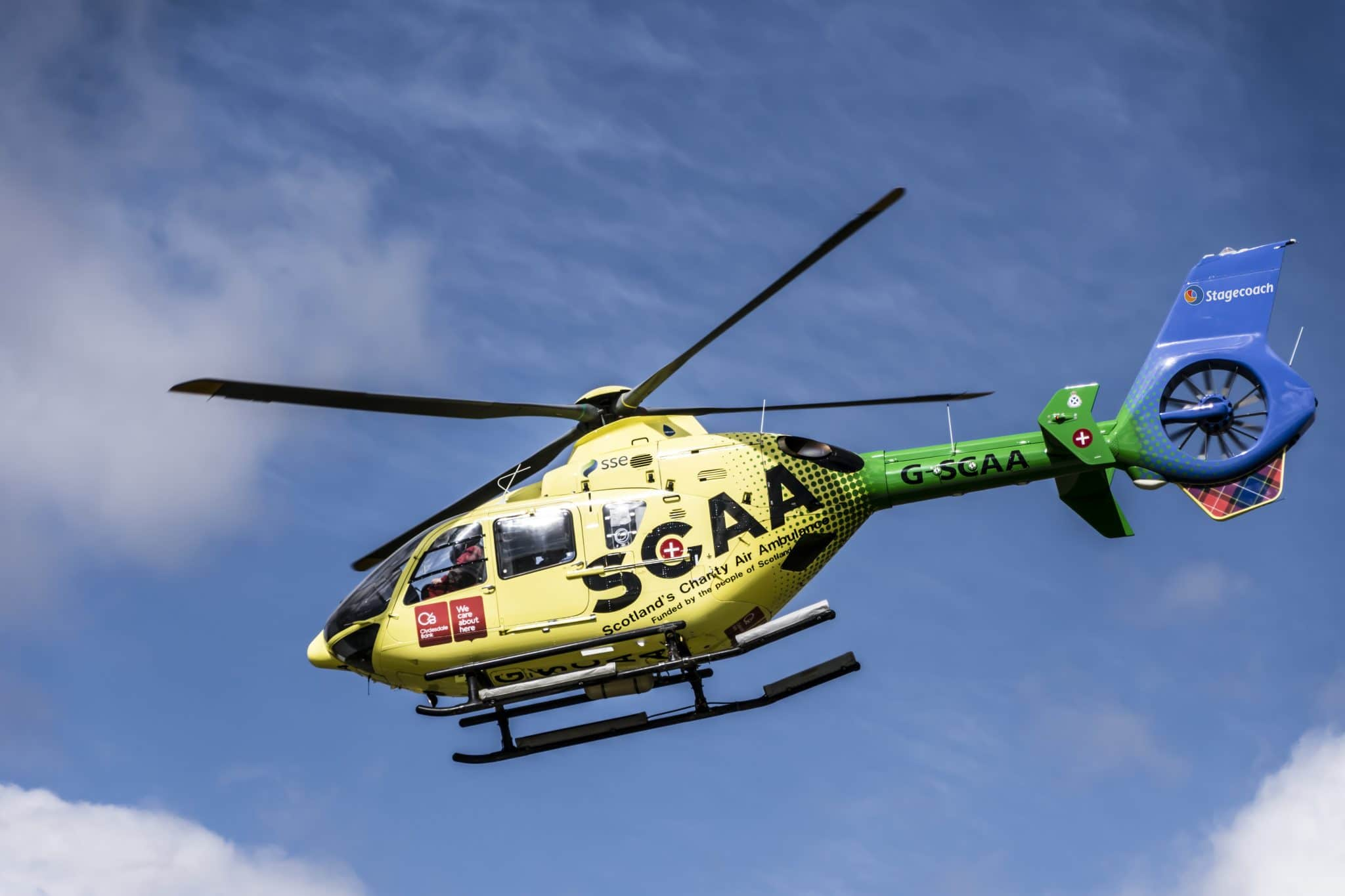 'Uplifting' Stories Sought by Scotland's Charity Air Ambulance