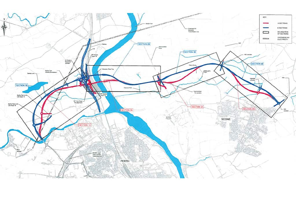 Contractor Appointed for Stage One of the Cross Tay Link Road