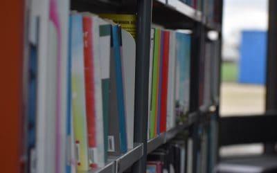Library Books Bookshelves Bookcases  - misskodak / Pixabay