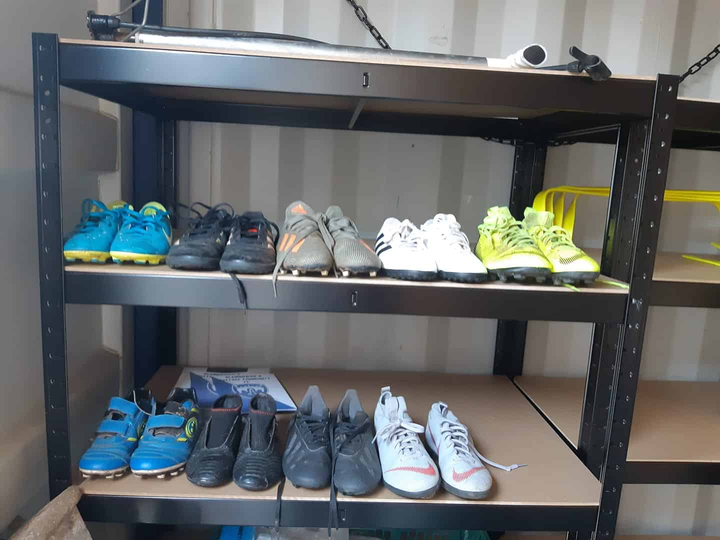 Blairgowrie and Rattray Football Club Swap Shop Helps Kids Find Boots their Size
