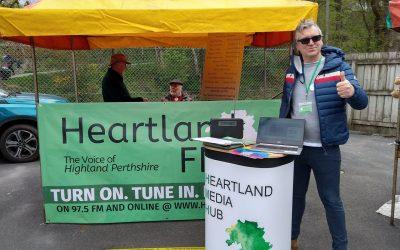 Heartland FM at Pitlochry Market