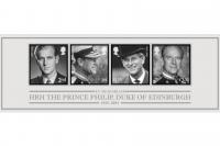 Stamps issued in memory of Duke of Edinburgh
