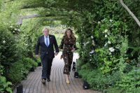 G7 leaders meet with Queen at reception at Eden Project