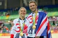 Laura and Jason Kenny banishing thoughts of making British Olympic history