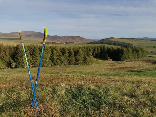 Nordic Walking in Highland Perthshire