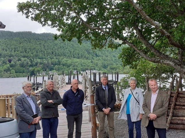 The Scottish Crannog Centre Reopens on Thursday