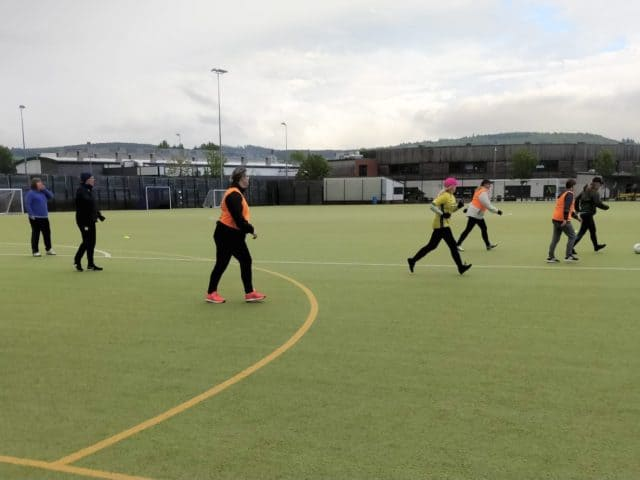 New Women's Walking Football Team in Perthshire