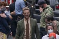 Indiana Jones actor Boyd Holbrook spotted on set in Glasgow