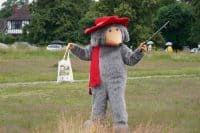 Litter-picking Womble kickstarts events for National Thank You Day.