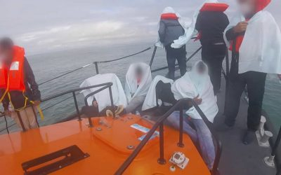 RNLI's defence of 'humanitarian' role in migrant crisis sees spike in donations