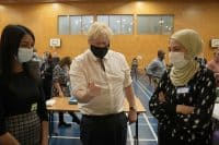Boris Johnson says Covid-19 jabs are our way through winter and out of the pandemic